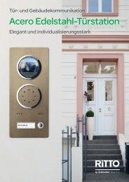 Acero Edelstahl-Türstation - Ritto