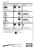 Bedienung Freisprechstelle - Ritto - Page 2