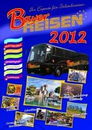 Aktueller Katalog als PDF Download - Bayer-Reisen GmbH