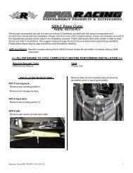 'GEN-3' Power Cooler - RIVA Racing