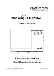 EAD 200wi - Elcon Systemtechnik