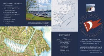 Download the Brochure (pdf) - River Dunes