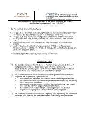 Satzung über die Abfallentsorgung in der Stadt Emmerich