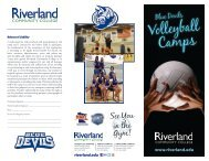 Volleyball Camps - Riverland Community College