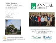 ANNUAL - Riverland Community College