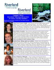 Campus News - Riverland Community College