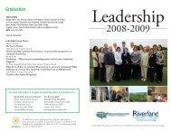 Leadership Graduates - Riverland Community College