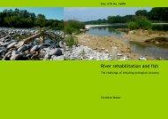 River rehabilitation and fish - Rhone-Thur Projekt - Eawag