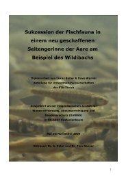 PDF-Dokument 4.5 MB - Rhone-Thur Projekt - Eawag