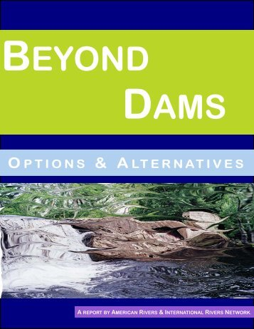 Beyond Dams - RiverNet