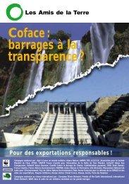 Coface : barrages à la transparence ? - RiverNet