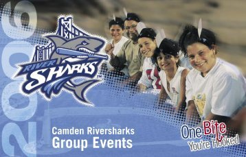 Group Events - Camden Riversharks