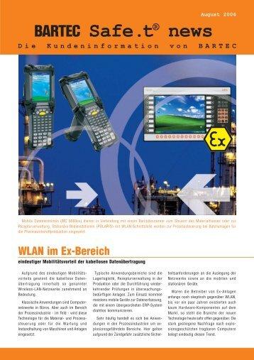 WLAN im Ex-Bereich - Bartec Sicherheits-Schaltanlagen GmbH