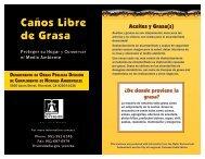 Caños Libre de Grasa - City of Riverside