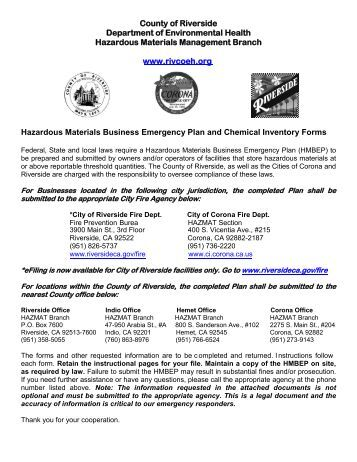 Hazardous Materials (HAZMAT) Program