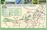 SANTA ANA RIVER TRAIL & PARkWAy - City of Riverside