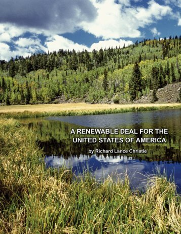 A Renewable Deal for the United States of - Earth Restoration Network
