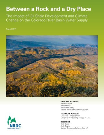Between a Rock and a Dry Place - Natural Resources Defense ...