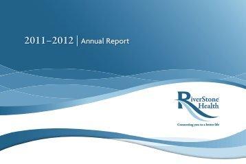2011–2012 | Annual Report - RiverStone Health