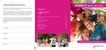 GEWALT? - Arbeitsgemeinschaft der Evangelischen Jugend
