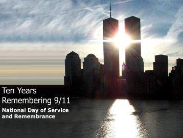 Remembering September 11th, 2011 PPT