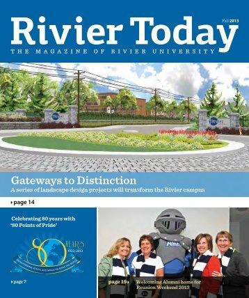 Journeys of transformation - Rivier University