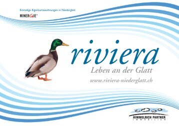 Leben an der Glatt - Riviera Niederglatt