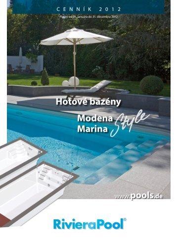 Hotové bazény Modena Marina - RivieraPool