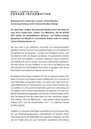 PRESSE - INFORMATION - BBQ-Scout GmbH