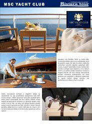 VIP Yacht Club - Riviera Tour