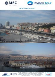 Destinace západní Středomoří - Riviera Tour