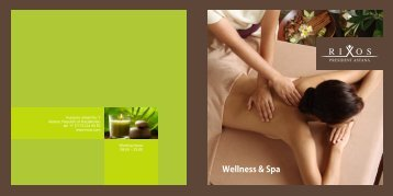 SPA brochure work - Rixos Hotel