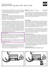 BLAULICHT-BLINK-SET H0 5750 - NSE Software