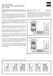 BAUSTELLEN-ANHÄNGER H0 5930 - NSE Software