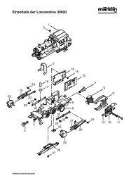 Einzelteile der Lokomotive 30000 - NSE Software