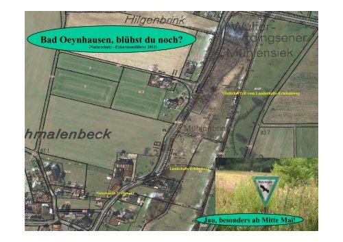 Naturschutz Exkursionsführer - Bad Oeynhausen