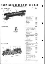 Page 1 SCHNELLZUGLOKOMOTIVE 3048 MIT SCHLEPPTENDER ...