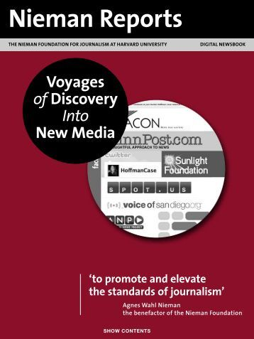 Voyages of Discovery Into New Media - Reynolds Journalism Institute