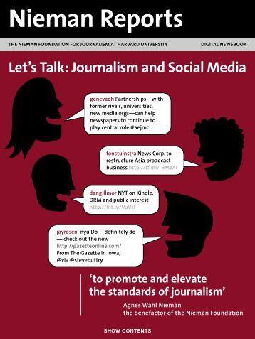 Let's Talk: Journalism and Social Media - Reynolds Journalism ...