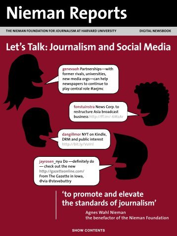 Let's Talk: Journalism and Social Media - Reynolds Journalism ...