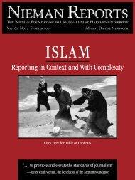 Islam - Reynolds Journalism Institute