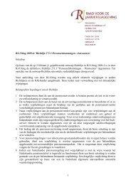 Richtlijn 271.3 Personeelsbeloningen - Pensioenen
