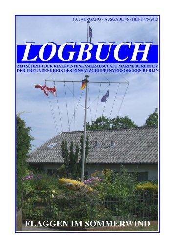 flaggen im sommerwind - bei der Reservistenkameradschaft Marine ...