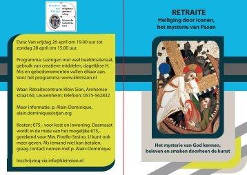 RETRAITE - RK Activiteiten