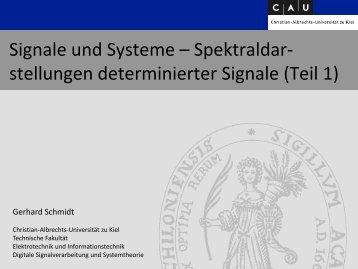 Teil 1 - Christian-Albrechts-Universität zu Kiel