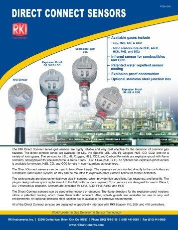 DIRECT CONNECT SENSORS - RKI Instruments