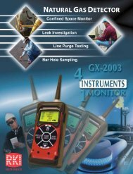 GX-2003 Brochure - RKI Instruments