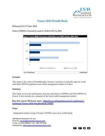 JSB Market Research - France 2014 Wealth Book