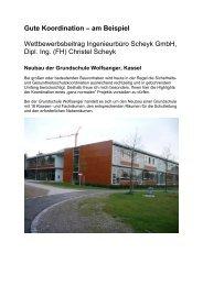 Neubau der Grundschule Wolfsanger in Kassel