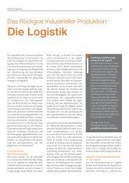Die Logistik - RKW